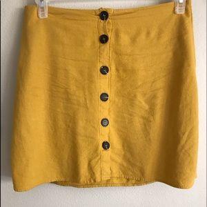 Women's skirt mustard yellow CottonOn